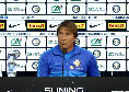 """Inter, Conte: """"Non ci siamo mai nascosti dalla lotta scudetto, noi giochiamo sempre per vincere. Futuro? Ho un contratto"""""""