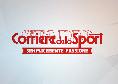 """Corriere dello Sport, prima pagina: """"730 milioni sul mercato"""" [FOTO]"""