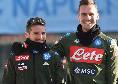 CdM - Mertens può giocare uno spezzone di gara con la Lazio: corsa contro il tempo per recuperare Koulibaly e Maksimovic per la Juve