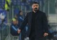 """Gattuso su De Laurentiis: """"Mi piace metterci il faccione. Se il presidente vorrà parlare vedremo"""""""