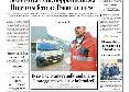 """La Repubblica, prima pagina: """"M5S, vince l'uomo di Di Mario. Rottura con il Pd alle elezioni"""" [FOTO]"""