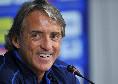 """Italia, Mancini: """"Anno complicato, complimenti al Napoli per la Coppa Italia"""""""