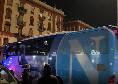 Napoli arrivato al San Paolo tra l'entusiasmo dei tifosi [VIDEO CN24]