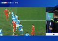 Napoli-Fiorentina 0-0, tocco di mano di Allan in area di rigore: Pasqua al VAR e non assegna il penalty