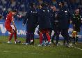 Napoli-Fiorentina 0-2, tiro a giro di Vlahovic e palla in rete: raddoppio dei viola, cala il gelo al San Paolo