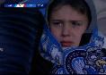 Disastro Napoli, ennesima sconfitta: giovane tifoso piange al San Paolo [FOTO]