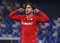 """Fiorentina, Vlahovic: """"Il gol più bello? Sicuramente quello al San Paolo contro il Napoli, è valso i tre punti"""""""