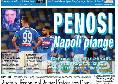 """Il Roma in prima pagina: """"Penosi, Napoli piange"""" [FOTO]"""
