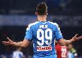 """Le pagelle di Milik in Napoli-Fiorentina: """"Soffre di una solitudine che per certi tratti indurrebbe alla tenerezza"""""""