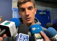 """Di Lorenzo in mixed: """"Da Matera al Camp Nou? Si gioca per serate come queste, siamo riusciti a limitare Messi! Gattuso ci ha fatto i complimenti"""" [VIDEO CN24]"""