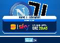 Dove vedere Napoli-Juventus in tv, Sky o Dazn? Tra Streaming e Tv, si gioca domenica alle 20:45