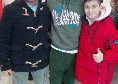 Malcuit riconosciuto dai tifosi a Giugliano: il terzino del Napoli fa felice il piccolo Antonio [FOTO CN24]