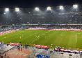 Napoli-Juve, fischi assordanti per Sarri all'ingresso in campo [VIDEO CN24]