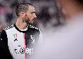 """Juventus, Bonucci: """"Siamo delusi, ma il nostro obiettivo era lo scudetto e lo abbiamo raggiunto"""""""