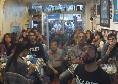 """Il Napoli batte la Juve, è festa grande da Maria a Londra: si canta """"Un giorno all'improvviso""""! [VIDEO]"""