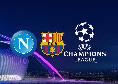 Dove vedere Napoli-Barcellona? Tv e streaming: gara su Sky Sport e in chiaro su Canale 5