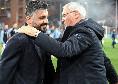 """Sampdoria, Ranieri si congratula con Gattuso: """"Le sue squadre hanno grinta e determinazione, mi piace come gioca il suo Napoli"""""""