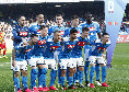 Napoli-Torino, quattro azzurri in diffida: la situazione