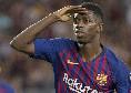Il Barcellona ritrova Dembélé, Il Mattino: Setien recupera il craque e s'informa costantemente sulle condizioni di Insigne