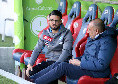 Cagliari-Napoli, prima sostituzione negli azzurri: entra Insigne per Demme