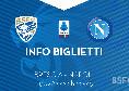 Brescia-Napoli, in vendita i biglietti per il settore ospiti: obbligo di membership card, i prezzi