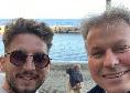 Mertens e Milik coppia fissa fuori dal campo: sole e relax al Bagno Sirena per i due attaccanti azzurri
