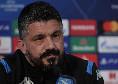Barcellona-Napoli, conferenza in modo inedito? Tuttosport: Gattuso ed un azzurro parleranno per via telematica