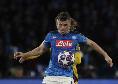 Ultimo cambio per Gattuso: fuori Demme al 79', dentro Allan tra gli applausi