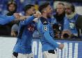 Mertens-Napoli, Tuttosport: il bacio ripetuto più volte sulla maglia è l'ennesimo segnale lanciato a ADL per non andarsene