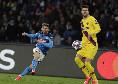 Sky - Infortunio Mertens: forte contusione, non ci sarà col Torino ma potrebbe tornare con l'Inter