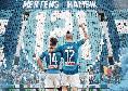Mertens raggiunge Hamsik nella classifica all time dei marcatori del Napoli, splendida immagine per celebrare questo traguardo! [FOTO]