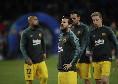 Tris annullato al Barcellona! Messi anticipa di sinistro l'uscita di Ospina, ma viene fischiato un fallo di mano