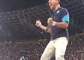 """""""Dries... Mertens!"""" 'Decibel' Bellini esulta 10 volte, il San Paolo risponde presente [VIDEO]"""