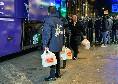 Il Barcellona lascia Napoli, mozzarelle per tanti membri dello staff blaugrana [FOTO]