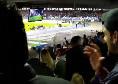 Mertens segna, Malcuit non resiste e si fa coinvolgere dal San Paolo: l'esultanza in Tribuna! [VIDEO CN24]