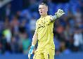 Everton, minacce a Pickford dopo l'infortunio provocato a van Dijk: il portiere assume le guardie del corpo