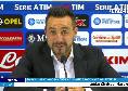 """Sassuolo, De Zerbi in conferenza: """"Pari a tempo scaduto? Col Napoli non è da buttare, c'è mancato lo scatto finale! Futuro? Non sarò qui per sempre, ma..."""""""