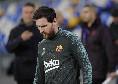 Barcellona, Messi lavora solo in palestra: fastidio al soleo per lui