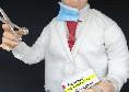 """Coronavirus, a Napoli il prof Ascierto finisce sul presepe: """"L'omaggio a un luminare che dà speranza"""" [FOTO]"""