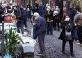 Il Mattino - Il coronavirus non ferma le persone, assembramenti nei Quartieri Spagnoli [FOTO]