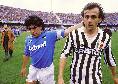 """Addio Maradona, Platini rivela: """"Provarono a portarmi nel Napoli insieme a Diego: avrei indossato la 20 in suo rispetto"""""""