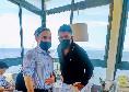 Domenica di relax per Gattuso, l'allenatore azzurro a pranzo in un noto ristorante a Marechiaro [FOTO]