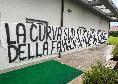 """Striscione della curva Sud Milan per Gattuso: """"Ci uniamo al dolore. Rip Francesca"""""""