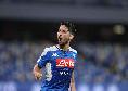Gol del Napoli, Mertens mette palla in buca d'angolo e fa 0-1!