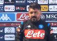Barcellona-Napoli, gli orari delle conferenze di Sétien e Gattuso: parlerà Ospina, seguile su CalcioNapoli24