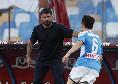 Napoli-Roma tridente nuovo per Gattuso, Mertens non al meglio e Politano continua a non incidere