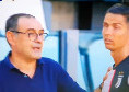 Juventus-Torino, Cristiano Ronaldo e le smorfie di noia quando parla Sarri [VIDEO]