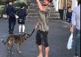 """Mertens: """"Vi racconto il primo giorno a Napoli: scoppiammo a ridere, amore a prima vista!"""""""