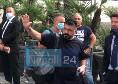 """""""Rino, l'anno prossimo li distruggiamo!"""": i tifosi salutano Gattuso ed inneggiano a Mertens, Napoli verso il San Paolo in vista del match con la Roma [FOTO E VIDEO CN24]"""
