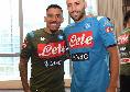 Genoa-Napoli, i convocati di Gattuso: ritornano Ospina e Allan, out Llorente